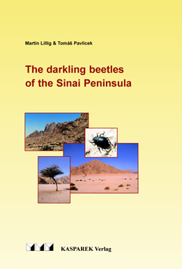 The Darkling Beetles of the Sinai Peninsula - Kasparek Verlag